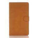 WALNUB-T280CAMEL - Etui aspect nubuck Galaxy Tab A 2016 7 pouces (T280/T285)
