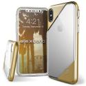 XD-DASHIPXGOLD - Coque iPhone X Xdoria-Dash coloris gold et transparent