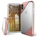 XD-DASHIPXROSE - Coque iPhone X Xdoria-Dash coloris rose doré et transparent
