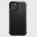 XD-DEFENSELUX-IP11PRO - Coque iPhone 11 Pro Xdoria Defense-Lux contour aluminium dos cuir