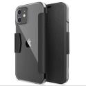 XD-RAPTICENGAGEIP12MINI - Etui folio iPhone 12 Mini Raptic-Engage de Xdoria noir et transparent
