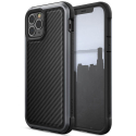 XD-RAPTLUXCARBOIP12 - Coque iPhone 12 / iPhone 12 Pro Raptic-Lux Carbone de Xdoria noir et gris