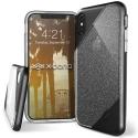 XD-REVELLUXIPXNOIR - Coque iPhone X Xdoria Revel-Lux Glitter noir