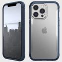 XD-TERRAIN-IP13PROBLEU - Coque Xdoria Terrain iPhone 13 Pro coloris bleu transparent