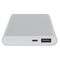 Batterie de secours Xiaomi 10.000mAh aluminium gris