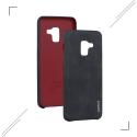 XLEVELVINTA82018NOIR - Coque souple Xlevel Vintage Galaxy A85-2018 coloris noir