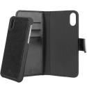XQ-EMANIPXNOIR - Etui iPhone-X Xqisit Eman noir 2 en 1 détachable magnétique
