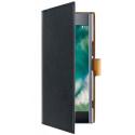 XQ-WALLETIPXZPREMIUM - Etui Sony Xperi XZ Premium Xqisit Wallet noir fonction stand