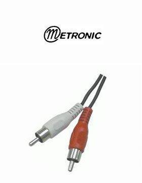 012010 - Cordon 2 RCA M�le - M�le de 80 cm