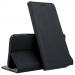 BOOKX-A20ENOIR - Etui Galaxy A20e rabat latéral fonction stand coloris noir