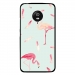 CPRN1MOTOG5FLAMANT - Coque rigide pour Motorola Moto G5 avec impression Motifs flamants roses