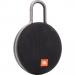 JBL-CLIP3NOIR - Enceinte tout terrain JBL Clip 3 coloris noir avec mousqueton