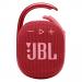 JBL-CLIP4ROUGE - Enceinte tout terrain JBL Clip 4 coloris rouge avec mousqueton métallique