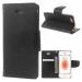 MERCURYBRAVO-IP8NOIR - Etui iPhone 7/8 Mercury Bravo logements carte fonction stand coloris noir