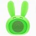 MINIBOOMVERT - Mini enceinte bluetooth lapin vert