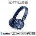 MUSE-M276BTBLEU - Casque sans fil Muse M276BT coloris bleu