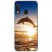 TPU0A20EDAUPHIN - Coque souple pour Samsung Galaxy A20e avec impression Motifs dauphin