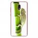 TPU0LENNY5CAMELEON - Coque souple pour Wiko Lenny 5 avec impression Motifs caméleon sur un bamboo