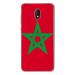TPU0LENNY5DRAPMAROC - Coque souple pour Wiko Lenny 5 avec impression Motifs drapeau du Maroc