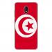 TPU0LENNY5DRAPTUNISIE - Coque souple pour Wiko Lenny 5 avec impression Motifs drapeau de la Tunisie