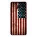TPU0LENNY5DRAPUSAVINTAGE - Coque souple pour Wiko Lenny 5 avec impression Motifs drapeau USA vintage
