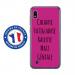 TPU0TPU0A10GENIALEFUSHIA - Coque souple pour Samsung Galaxy A10 avec impression Motifs Chiante mais Géniale fushia