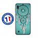 TPU0TPU0A10REVEBLEU - Coque souple pour Samsung Galaxy A10 avec impression Motifs attrape rêve sur fond bleu