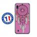 TPU0TPU0A10REVEROSE - Coque souple pour Samsung Galaxy A10 avec impression Motifs attrape rêve sur fond rose