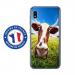 TPU0TPU0A10VACHE - Coque souple pour Samsung Galaxy A10 avec impression Motifs vache