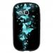 TPU1S6790FAMEPAPILLONSBLEUS - Coque souple pour Samsung Galaxy Fame Lite S6790 avec impression Motifs papillons bleus