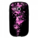 TPU1S6790FAMEPAPILLONSFUSHIAS - Coque souple pour Samsung Galaxy Fame Lite S6790 avec impression Motifs papillons fushias
