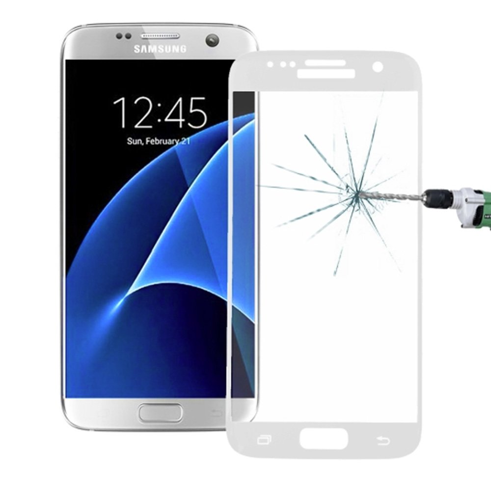 Film protecteur d 39 cran en verre tremp pour galaxy s7 for Photo ecran galaxy s7