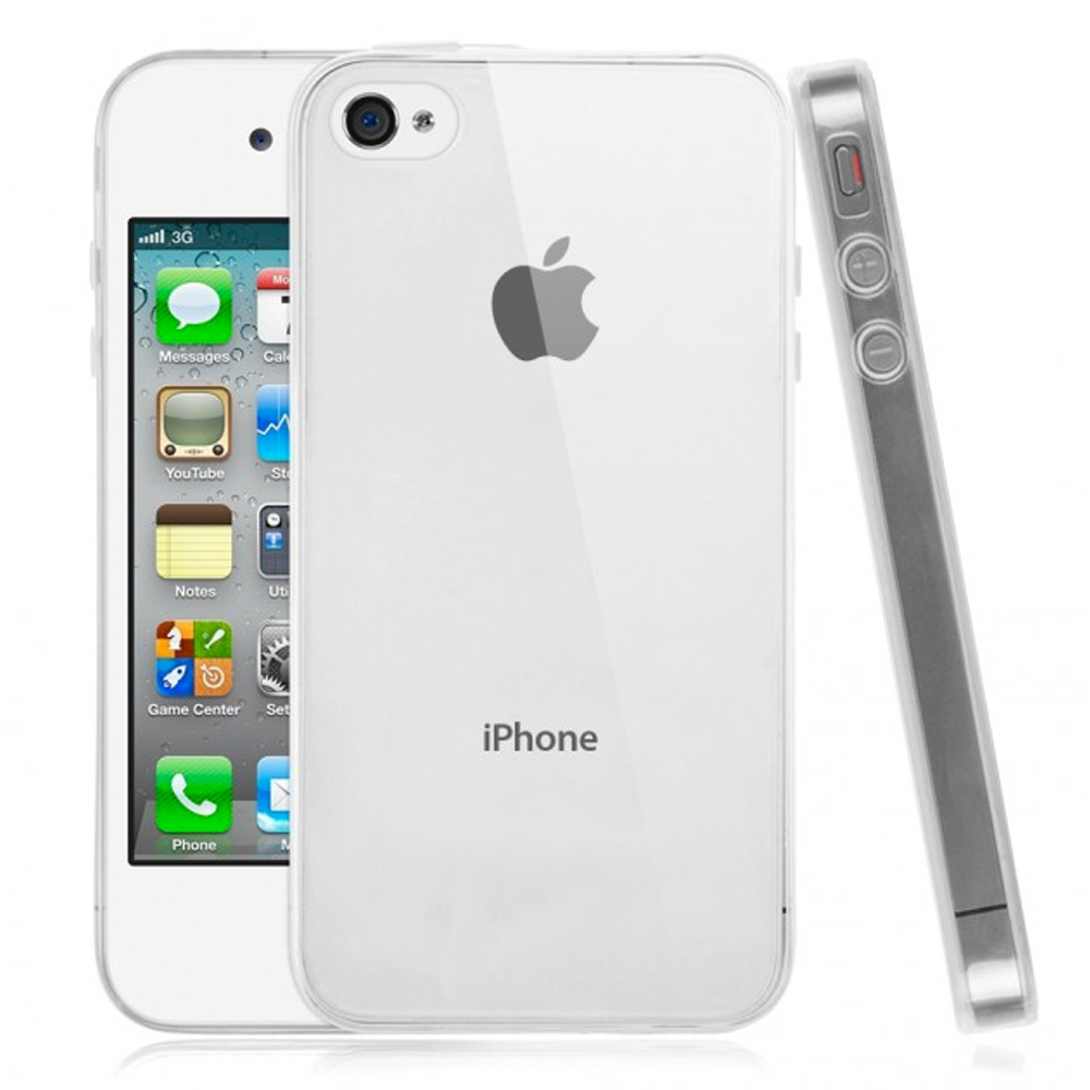 Coque souple housse en gel transparent pour apple iphone for Housse iphone 4s