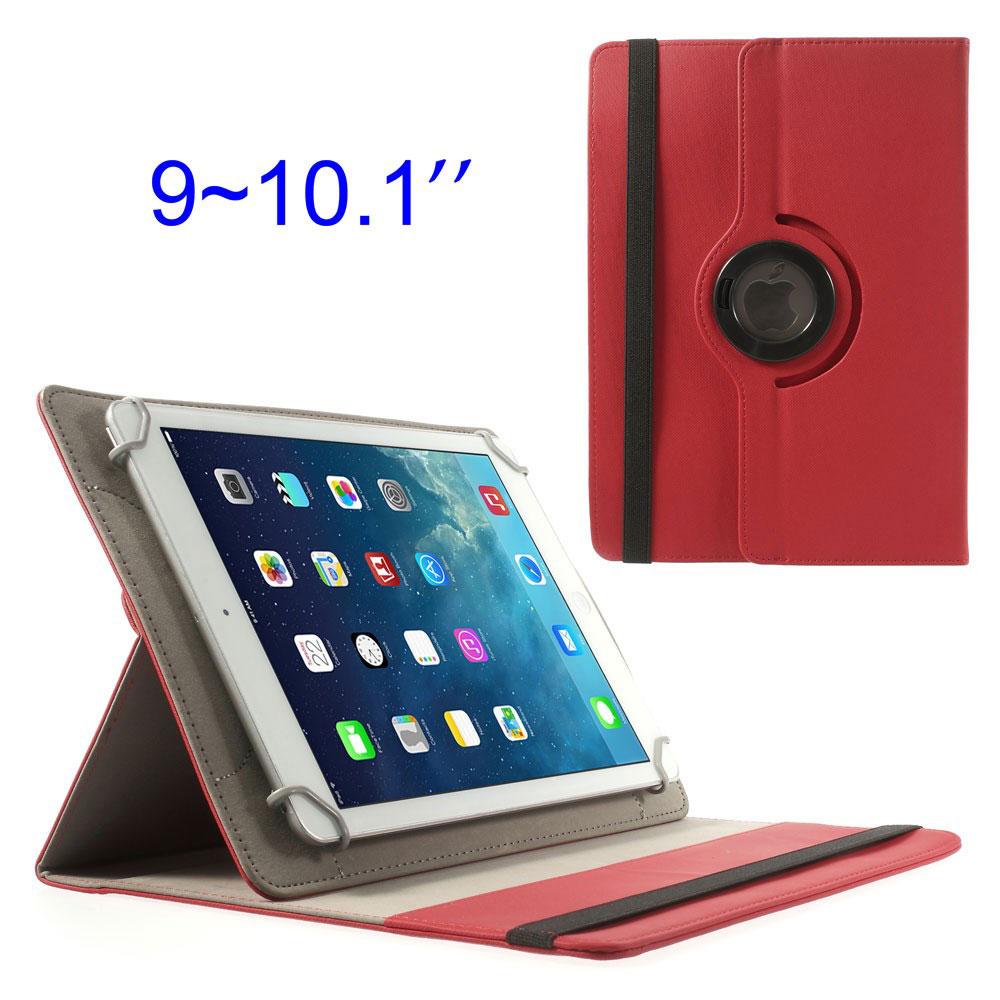 Etui Universel Rouge Pour Tablettes De 9 10 Pouces Avec