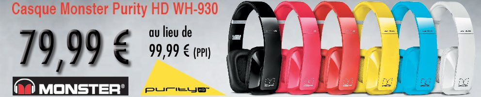 casque monster purity HD WH-930