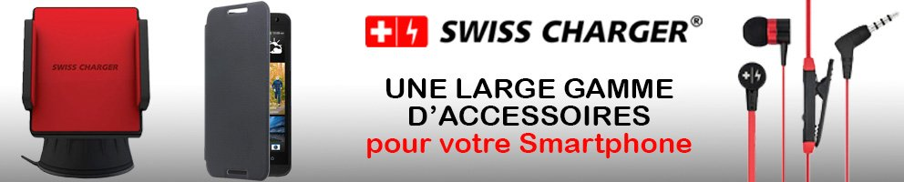 nos accessoires swiss charger